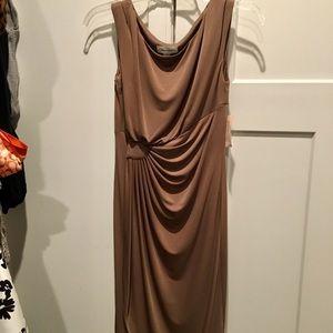 Dress Barn ruched dress